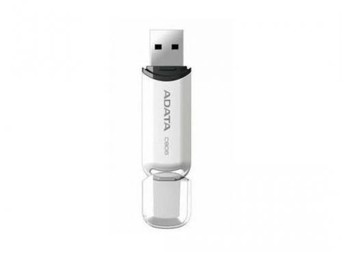 Stick USB A-Data C906, 16GB, USB 2.0, Alb