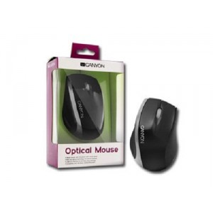 Mouse Canyon CNR-MSO01NS Black/Silver
