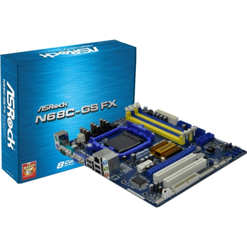 Placa de baza ASRock N68C-GS FX, socket AM3+