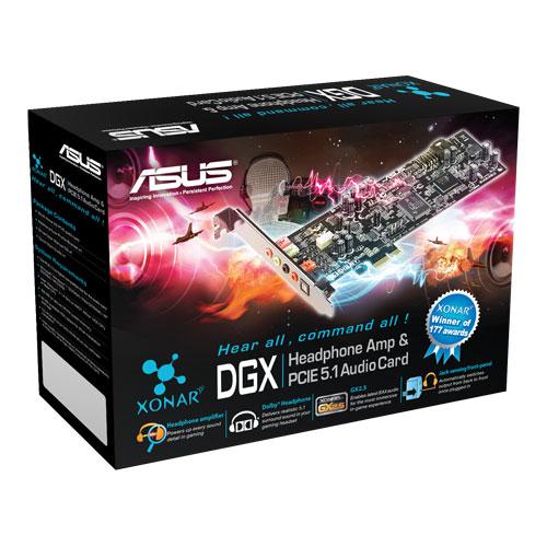 Placa de sunet 5.1 ASUS Xonar DGX, PCIE, retail