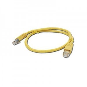 CABLU UTP Patch cord cat. 5E, 3m Gembird PP12-3M/Y, galben