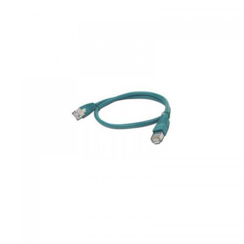 CABLU UTP Patch cord cat. 5E, 5m Gembird PP12-5M/G, verde