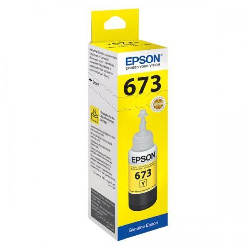 Cerneala galbena doza Epson pentru L800/L805/L850, 70ml