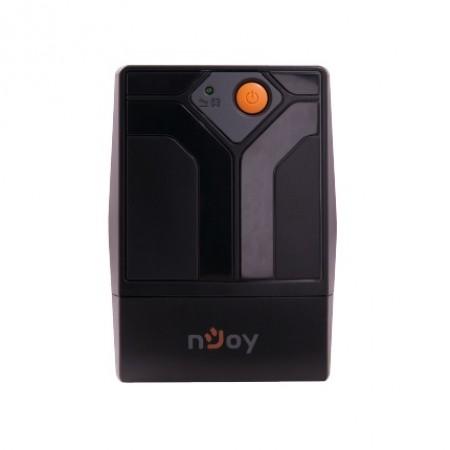 UPS Njoy Septu 800, 800VA/480W, AVR, 2 x schuko, black