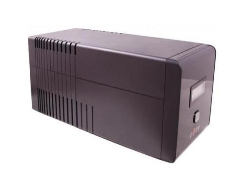 UPS NJOY ISIS 850L, 850VA/480W, AVR, 2 x schuko, LCD, USB cable & management
