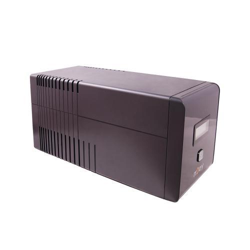 UPS NJOY ISIS 1000L, 1000VA/600W, AVR, 4 x schuko, LCD, USB cable &management