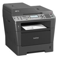 1 x Multifunctionala Brother MFC-8520DN, laser monocrom A4, duplex, DADF, fax, retea - refurbished