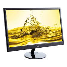 """Monitor LED AOC e2251Fwu 21.5"""", 5ms, black"""