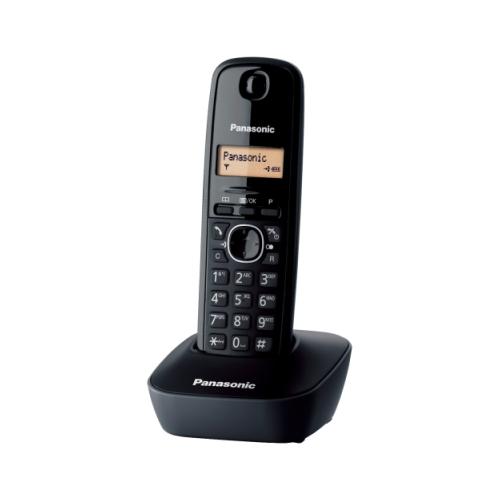 Telefon Panasonic Dect KX-TG1611FXH, Caller ID, Negru