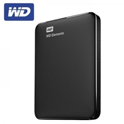 """HDD extern Western Digital  Elements 1TB, 2.5"""", USB 3.0, Black"""