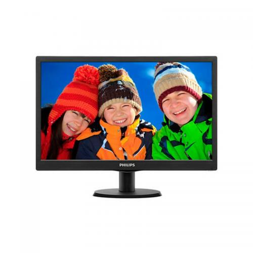 "Monitor LED Philips 203V5LSB26 19.5"" (1600x900), 5ms, 200cd/m2, VGA, Negru"