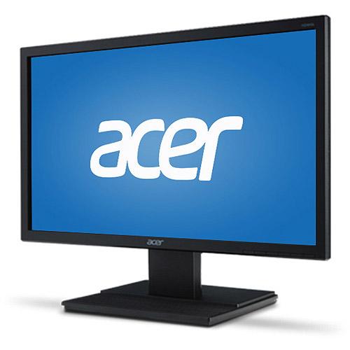 "Monitor LED Acer V206HQLab, 19.5"" (1600x900), 5ms, 200cd/m2, contrast: 100mil:1, VGA, Black"