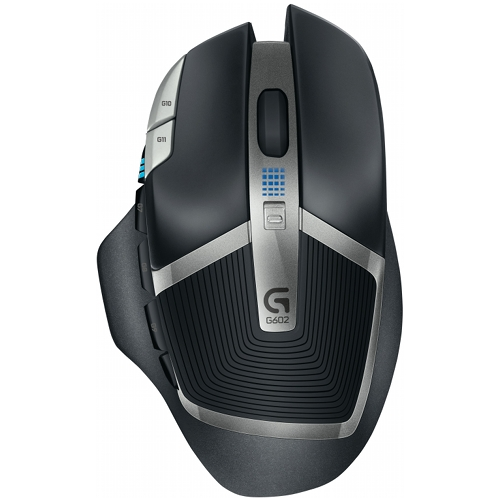 Mouse gaming Logitech G602, Black