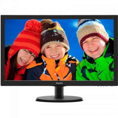 "Monitor LED Philips 223V5LSB/00, 21.5"", Negru"