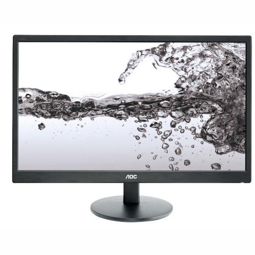"Monitor LED AOC E2270SWN, 21.5"" FullHD LED, 16:9, 5 ms, 200 cd/m2, 20M:1, VGA, Black"