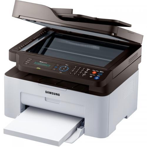 Multifunctional laser alb-negru Samsung SL-M2070F/SEE, A4, Print/Scan/Copy/Fax, 20ppm, duplex, ADF, USB