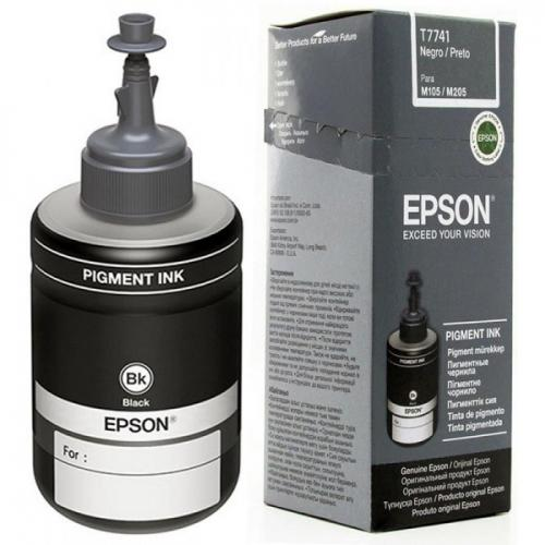 Cerneala neagra doza pentru Epson M100/M105/M200/M205, 140ml