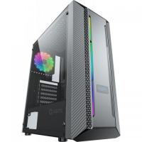 1 x Sistem Base Super Gaming AMD Ryzen 5 3400G 3.7GHz, RAM 8GB DDR4, SSD 256GB M.2, HDD 1TB SATA3, placa video AMD RX550 4GB DDR5, carcasa Aqirys Mizar, sursa Intertech 650W PFC activ