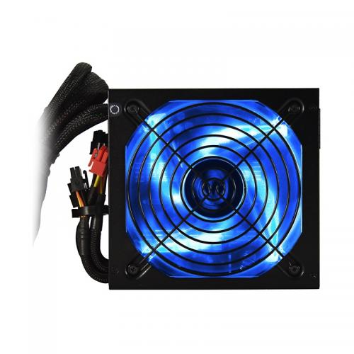 Sursa RAIDMAX RX-730SS, 730W, PFC activ, semi-modulara, ventilator 135mm, Black/Blue, retail