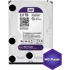 """HDD WD PURPLE 2TB, 3.5"""", IntelliPower, 64MB, Surveillance, SATA3"""