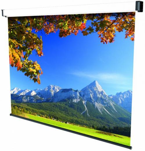 Ecran de proiectie montabil pe perete Sopar New Spring SP3220, 220 x 200cm