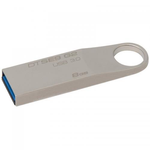 Memorie USB Kingston DataTraveler SE9 G2 8GB, USB 3.0, Metalic
