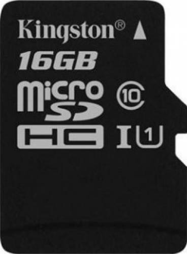 Card de memorie Kingston, 16GB, Clasa 10