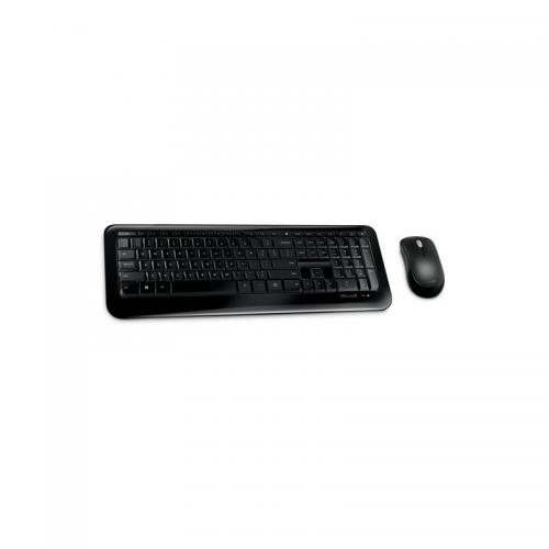 Kit tastatura cu mouse Wireless Microsoft Desktop 850 AES, Negru