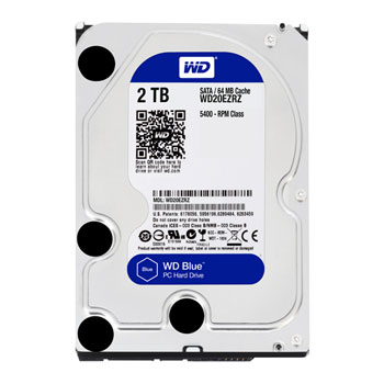 Hard-disk Western Digital Blue WD20EZRZ, 2TB, SATA3, 5400RPM, 64MB, 3.5""