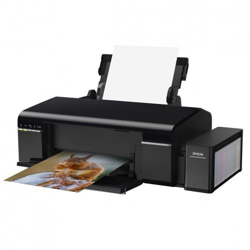 Imprimanta inkjet color CISS Epson L805, A4, 37ppm, rezolutie: 5760x1440dpi, print CD/DVD, wireless, USB2.0