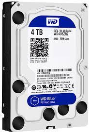 """Hard-disk Western Digital Blue WD40EZRZ, 4TB, SATA3, 5400RPM, 64MB, 3.5"""""""