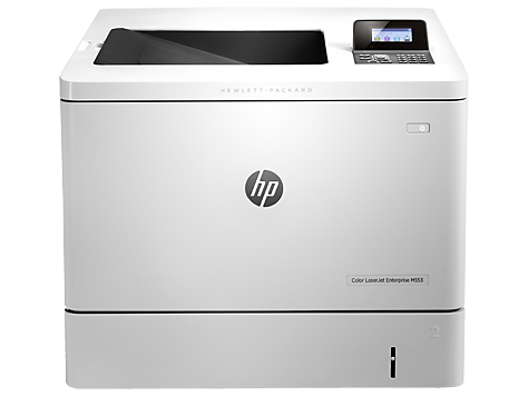 Imprimanta laser color HP Color LaserJet Enterprise M553n, White