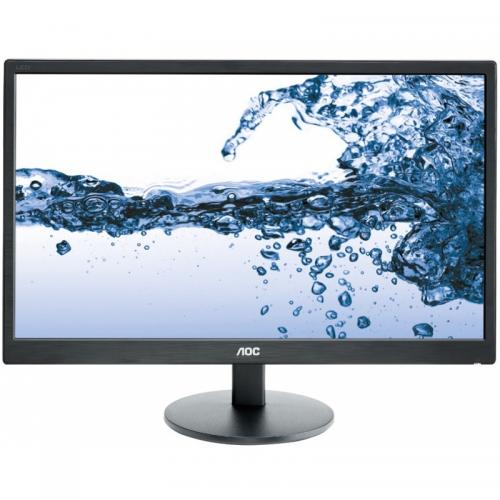 "Monitor LED AOC E2270SWHN, 21.5"", Black"