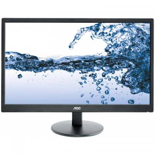 "Monitor LED AOC E2270SWDN, 21.5"", Black"