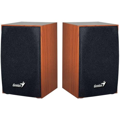 Boxe Genius SP-HF160, Cherry Wood, RMS: 2x2W, USB