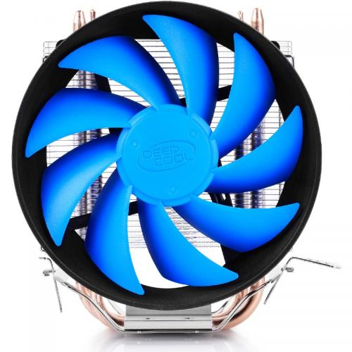 Cooler Deepcool GAMMAXX 200T, universal, 2xheatpipe, fan 120mm, Al+Cu, 100W, PWM
