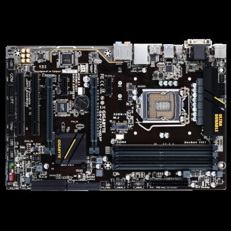 Placa de baza Gigabyte Z170-HD3P, LGA1151, 4xDDR4, DP/HDMI/DVI, ATX