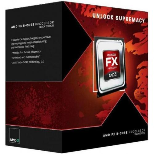 Procesor AMD FX-8300, 3.30GHz, 8MB, Socket AM3+, BOX