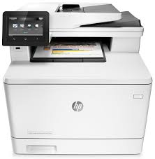 Multifunctional laser color HP M477FDN, Alb