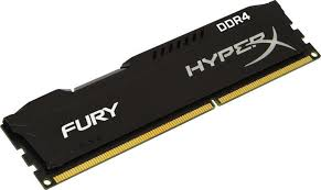 Memorie Kingston HyperX FURY Black HX424C15FB2/8, 8GB DDR4, 2400MHz, CL15