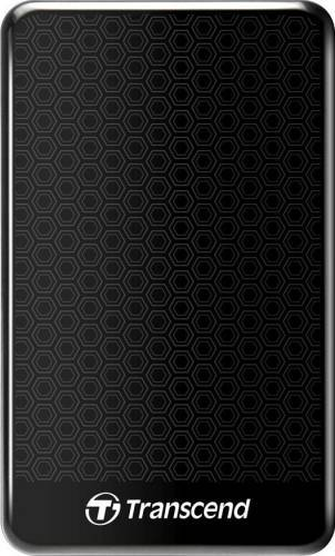 """HDD Extern Transcend StoreJet 25A3, 1TB, USB 3.0, 2.5"""", Negru"""