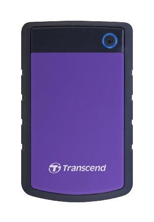 """HDD Extern Transcend StoreJet2.5"""" H3P, 1TB, USB 3.0, 2.5"""", Purple"""