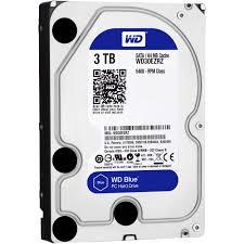 """Hard-disk Western Digital Blue WD30EZRZ, 3TB, SATA3, 5400RPM, 64MB, 3.5"""""""