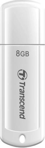 Memorie USB Transcend JetFlash 370, 8GB, USB 2.0, White