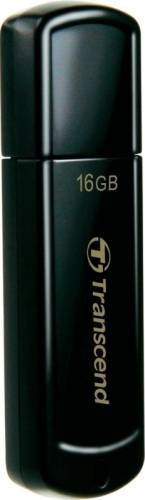 Memorie USB Transcend JetFlash 350, 16GB, USB 2.0, Black