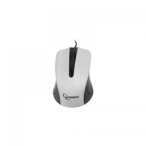 Mouse Gembird MUS-101-W, White