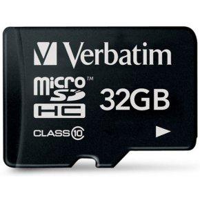 Card de memorie Verbatim 44013, 32GB, Clasa 10