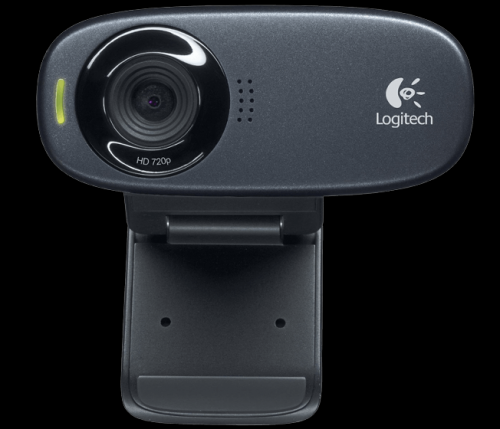 Camera web Logitech C310, Black