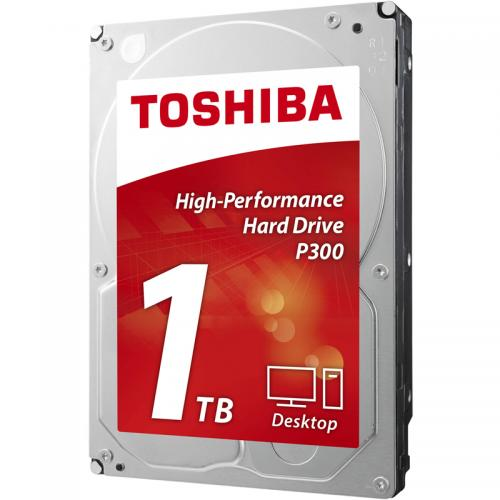 "Hard-disk Toshiba P300, 1TB, 3.5"", 7200rpm, 64MB, SATA 3"