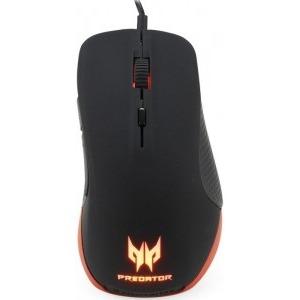 Mouse ACER PREDATOR GAMING MOUSE PMW510, optic, 6 butoane, 6500dpi, 200IPS, iluminat, USB, negru